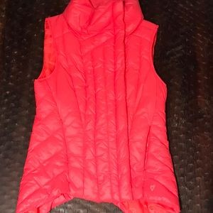 Betsey Johnson Asymmetrical Quilted Puffer Vest